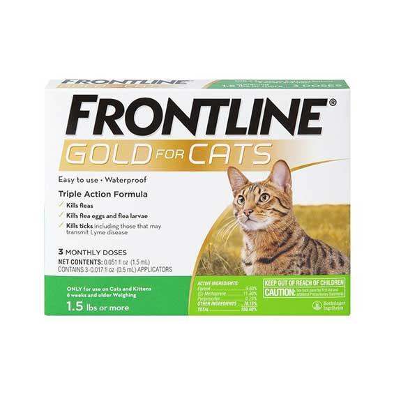 frontline-gold-for-cats-flea-treatment-pure-life-pharmacy-veterinary-medication-foley-alabama