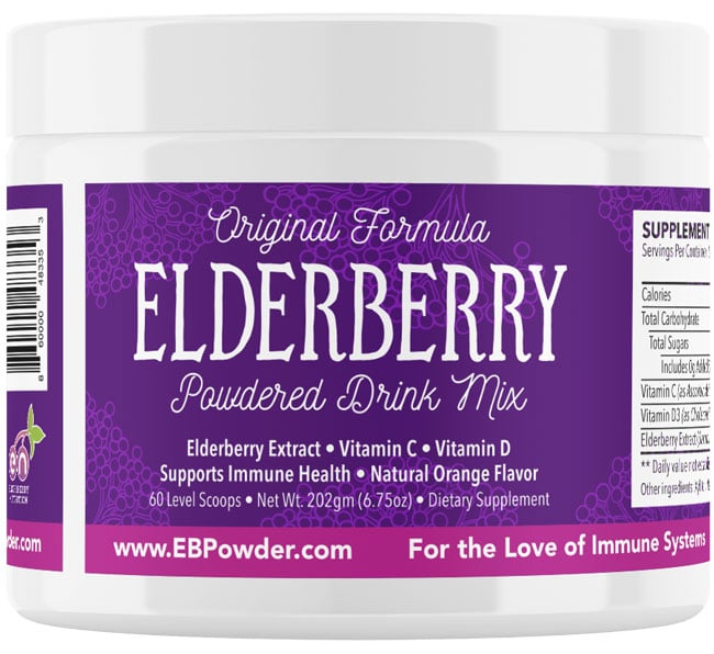 elderberry-powdered-drink-mix-60-servings-jar-pure-life-pharmacy-foley-alabama